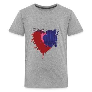 Painted Heart - Kids' Premium T-Shirt