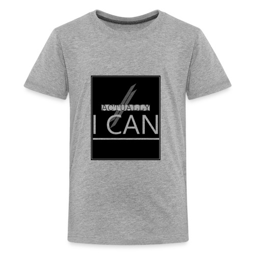 ACTUALLY I CAN - Kids' Premium T-Shirt