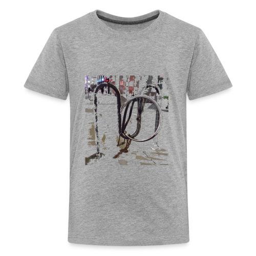 Bike Lock - Kids' Premium T-Shirt