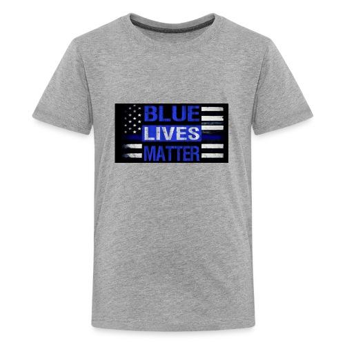 blue-lives-matter-membership-1-1024x538 - Kids' Premium T-Shirt
