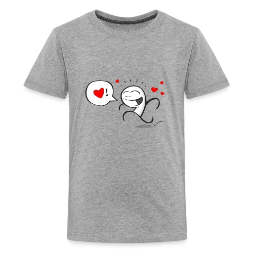 Wherever you go, go with all your heart - Kids' Premium T-Shirt