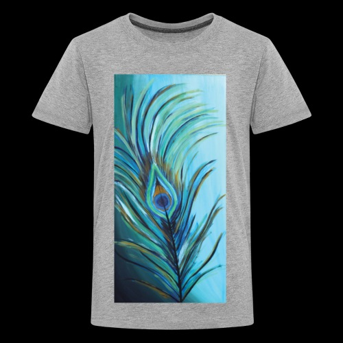 Peacock Feather - Kids' Premium T-Shirt