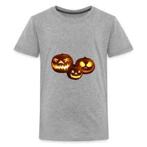 halloween pumpkin transparent - Kids' Premium T-Shirt