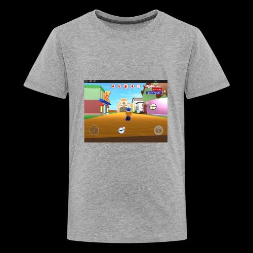 Roblox meep city - Kids' Premium T-Shirt