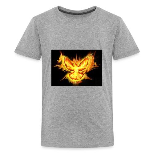 fire blaze cup - Kids' Premium T-Shirt