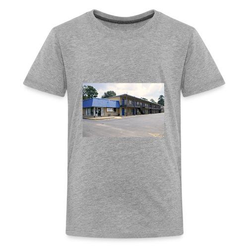 The Blue Door Motel - Kids' Premium T-Shirt