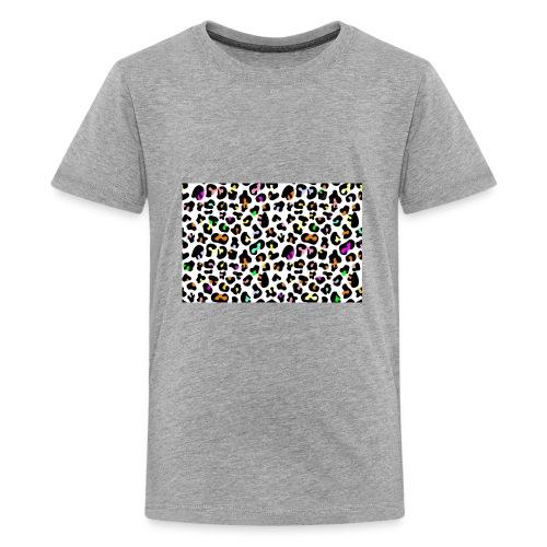 Colorful Animal Print - Kids' Premium T-Shirt