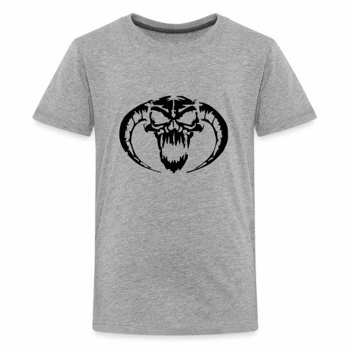 black skull - Kids' Premium T-Shirt
