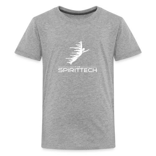 The SpiritTech Logo White PNG - Kids' Premium T-Shirt