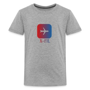 X-Fil Plane addition - Kids' Premium T-Shirt