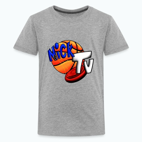 Nick TV Big and Tall - Kids' Premium T-Shirt