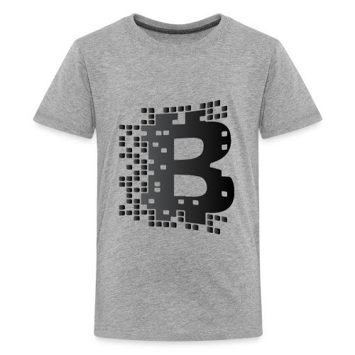 blockchainblack - Kids' Premium T-Shirt
