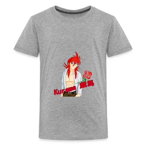 Kurama Sexy Pose Shirt Design #1 - Kids' Premium T-Shirt