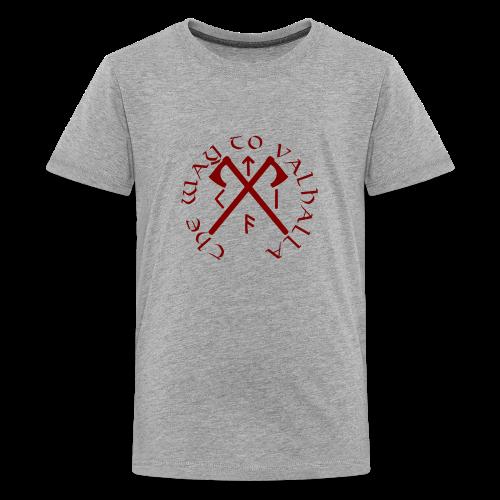 The Way To Valhalla - Kids' Premium T-Shirt