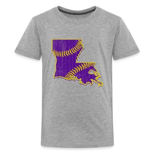 Louisiana Baseball - Kids' Premium T-Shirt