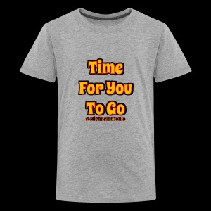 Time 4U 2 Go - Kids' Premium T-Shirt