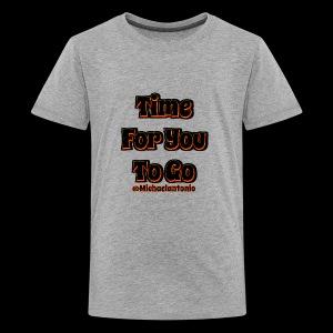 Time 4U 2 Go - Black Series - Kids' Premium T-Shirt