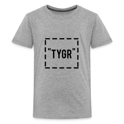 dotted box logo - Kids' Premium T-Shirt
