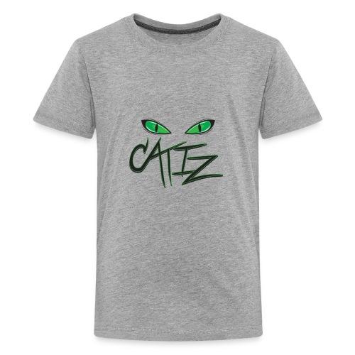 CatIz logo - Kids' Premium T-Shirt