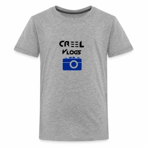 Creel Vlogs - Kids' Premium T-Shirt