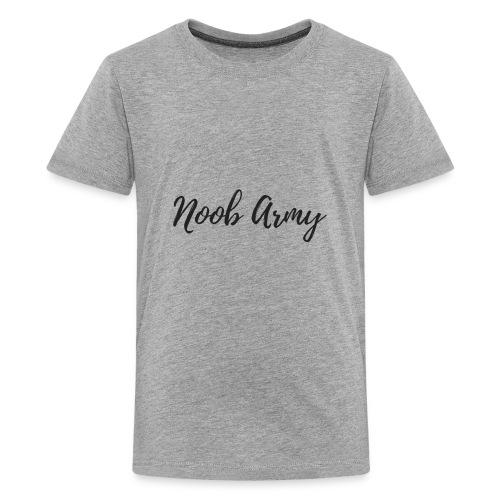 Noob Army (No Symbol) - Kids' Premium T-Shirt
