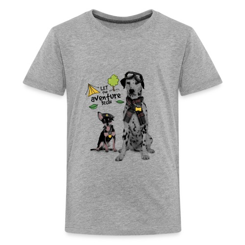 Aventure with my dad - Kids' Premium T-Shirt