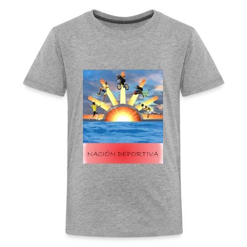 NACION DEPORTIVA - Kids' Premium T-Shirt