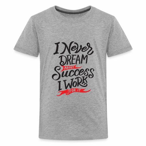 Work For Success - Kids' Premium T-Shirt