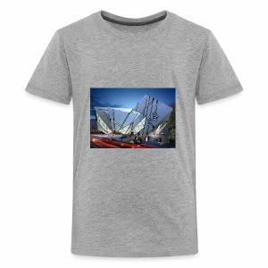 1014 4 1000 libeskind 4 - Kids' Premium T-Shirt