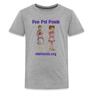 Pen Pal Patch of VITFriends - Kids' Premium T-Shirt