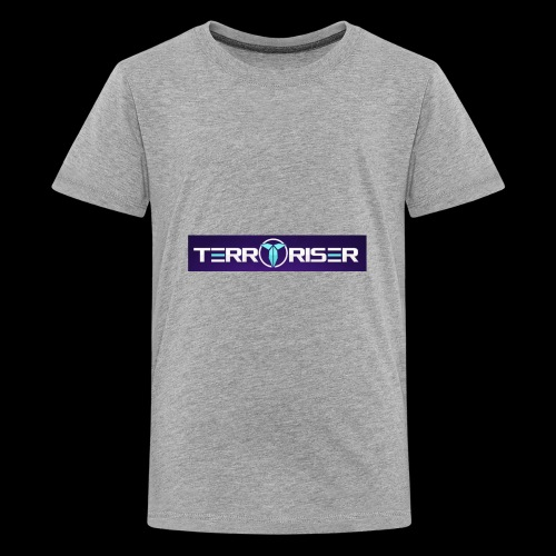 terroriser purple logo twitch 2 - Kids' Premium T-Shirt