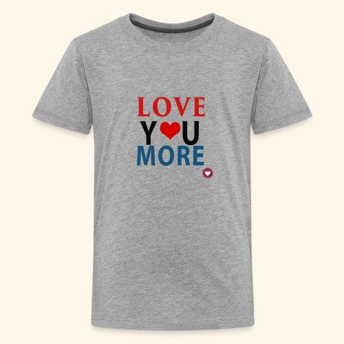 Loveyoumore - Kids' Premium T-Shirt