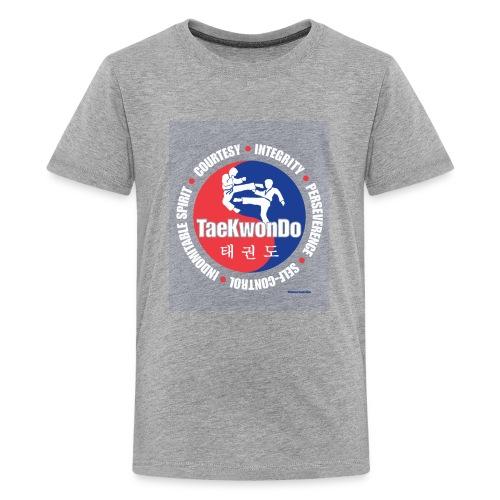 Taekwondo Tenets Graphic - Kids' Premium T-Shirt