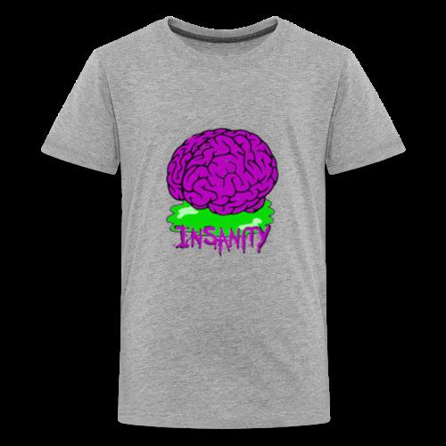 Insanity Servers Logo - Kids' Premium T-Shirt