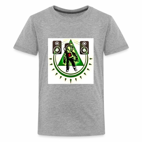 Chaos The Spaceman Logo - Kids' Premium T-Shirt