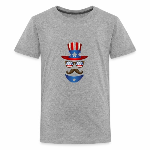 4th of July t-shirt USA independence day - Kids' Premium T-Shirt
