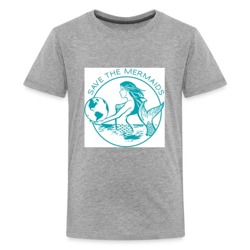 Save the mermaid - Kids' Premium T-Shirt