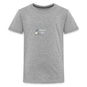 Siamese Love Cat Heart - Kids' Premium T-Shirt