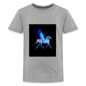 Blue Mustang iphone case (NBM Gang) - Kids' Premium T-Shirt