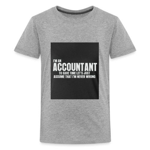 accountant - Kids' Premium T-Shirt