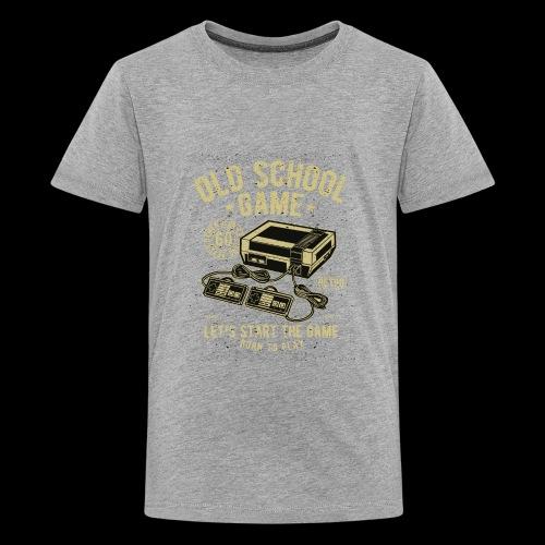 Old School Gamer - Kids' Premium T-Shirt