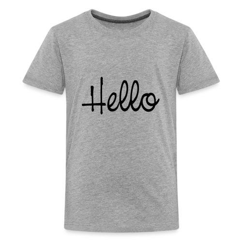 hello - Kids' Premium T-Shirt