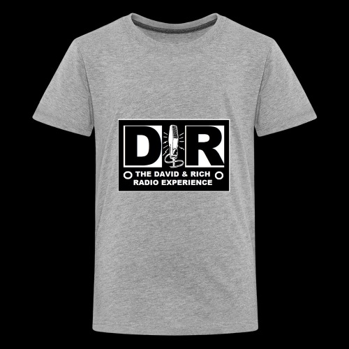 DAVERICHLOGOBLACK1 - Kids' Premium T-Shirt