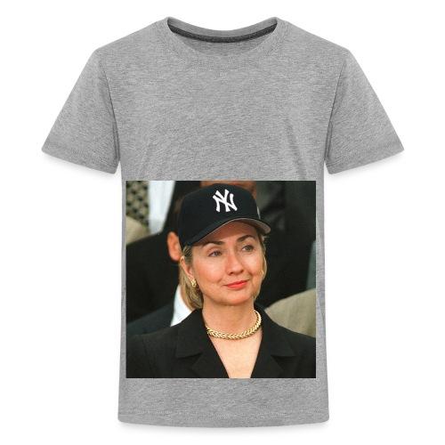 hillary_ny_large - Kids' Premium T-Shirt