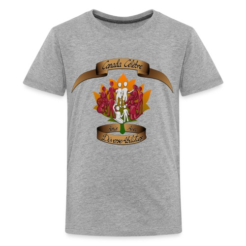 Friends With DiverseAbilities - Canada Celebre - Kids' Premium T-Shirt