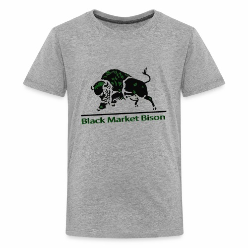 Black Market Bison - Kids' Premium T-Shirt