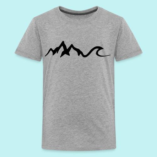 Mount Wave - Kids' Premium T-Shirt