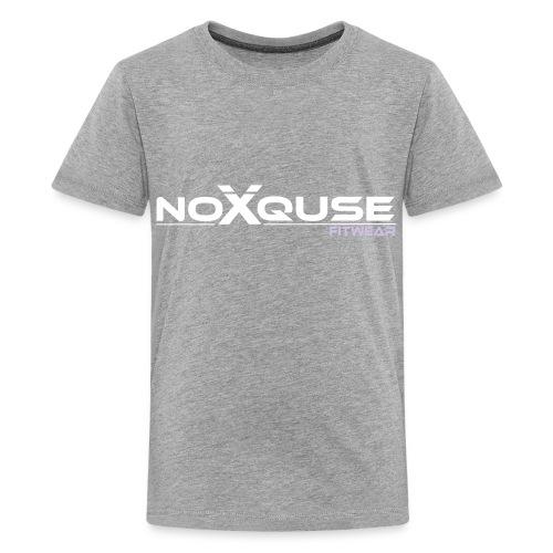 noxquse white - Kids' Premium T-Shirt