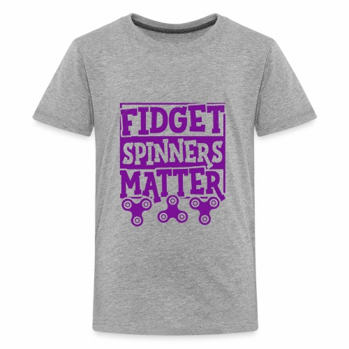 Fidget Spinners' Design - Kids' Premium T-Shirt