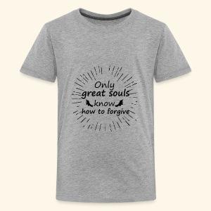 t shirt Only great souls - Kids' Premium T-Shirt